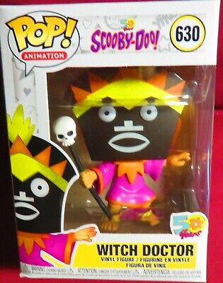 "Brand New Pop Animation, From ""50 Years Of Scooby-Doo, Witch Doctor, #630"