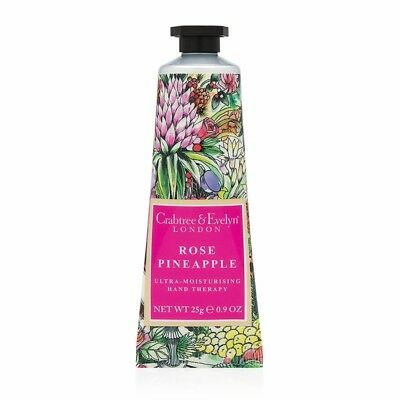LIMITED EDITION Crabtree & Evelyn Rose Pineapple Hand Therapy Cream 100g