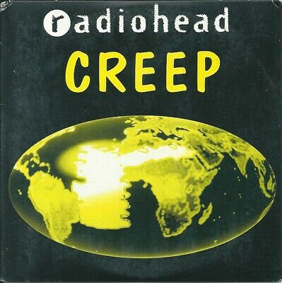Radiohead - Creep CDsingle 2 tit 1995 FRANCE