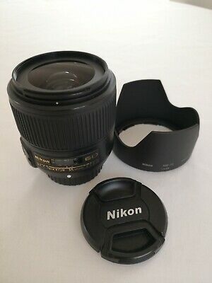 Nikon 35mm F/1.8 AF-S ED Lens. Excellent condition hardly used.