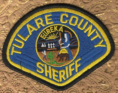TULARE COUNTY CALIFORNIA Sheriff Police Patch - $3 00 | PicClick