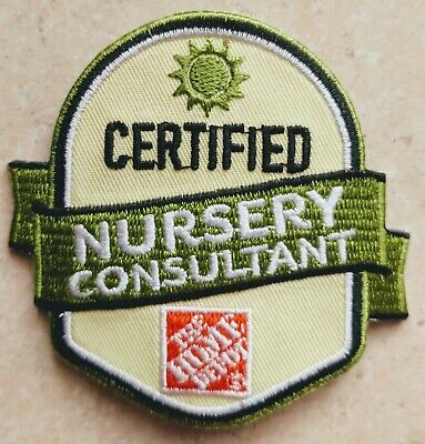 Home Depot Apron Badge: Certified Nursery Consultant (patch, pin, swag)