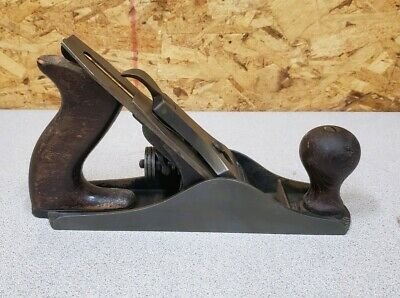Vintage Stanley Bailey No. 3 Hand Plane,Old Carpenters Woodworking Tool