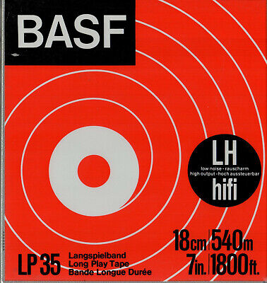 Reel-To-Reel Store: BASF 1800' reels of tape  .  ALL  8 Reels for ONLY  $50.00