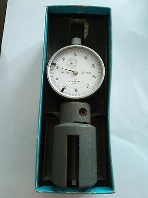 COMPAC GENEVE PRECISION DIAL INDICATOR TYPE 523 0.01mm  SWISS MADE