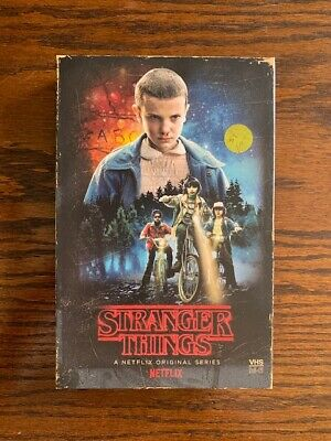 Stranger Things Season 1 Blu Ray Dvd Target Exclusive Vhs Packing + Poster