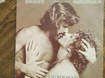 A Star Is Born Barbra Streisand Kristofferson Vinyl Lp Album 1976 Columbia Rec.