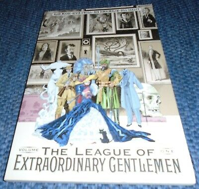 The League of Extraordinary Gentlemen Alan Moore Kevin O'Neill Volume One VGC