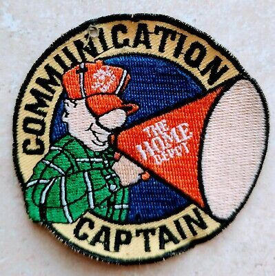 Home Depot Apron Badge: Communication Captain Award (patch, pin, swag)