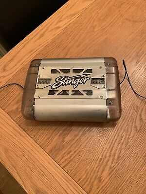 Stinger 20 Farad Capacitor W/ Digital Voltage Display Car Audio Power Cap