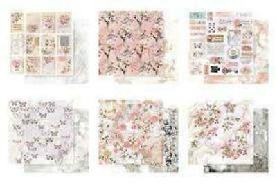 Prima Marketing 12x12 Collection Pack 12 Sheets Apricot Honey DS scrapbook paper