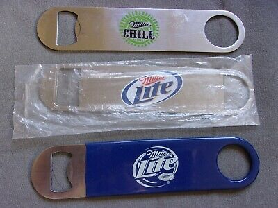 Lot Miller Light Miller Chill Beer Bottle Openers