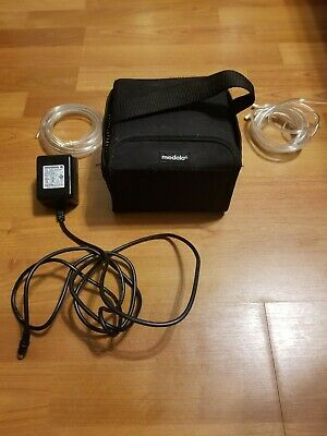 Medela Breast Pump in Style Advanced Double Accesory Storage Used Works Great