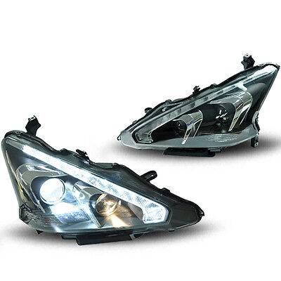 For Nissan Altima 13-15 HID Xenon Headlamp Projector Headlights Assembly NEWvcb