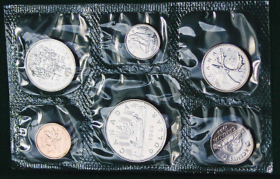 1983 Canada Prooflike PL set - 6 coins in org packaging and certificate