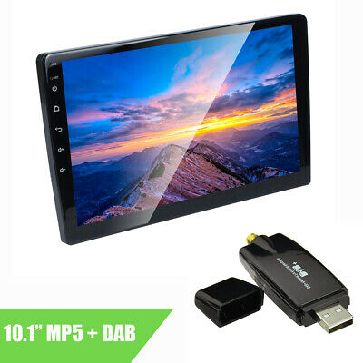 """10.1"""" 2 DIN Android Car MP3 MP5 Player GPS Mirror Link WIFI + USB DAB receiver"""