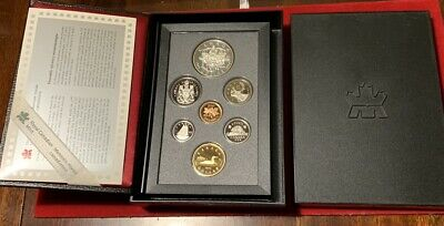 Royal Canadian Mint 1994 Proof Set With COA Free Shipping