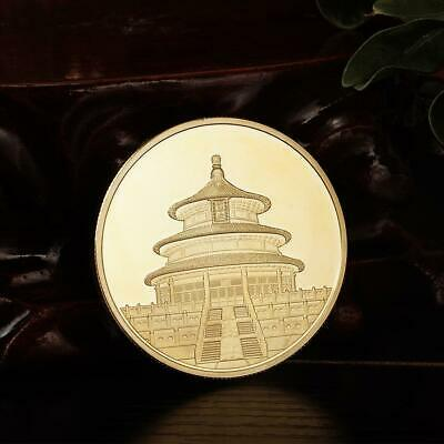 Great Wall Temple of Heaven Gold Coin Collection Commemorative Coin