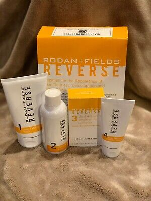 Rodan and Fields Reverse Brightening Regimen Kit New and Sealed!