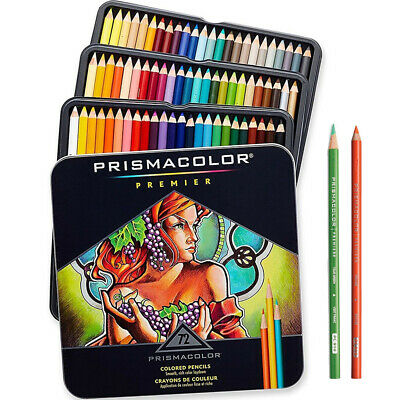 Prismacolor Premier Soft Core Colored Pencils 72 Colored Pencils Set Free Ship