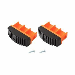 KRAUSE Paire de chevilles MONTO 77x25 mm, orange, 211163