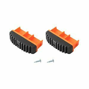KRAUSE Paire de chevilles MONTO 97x25 mm, orange, 211170