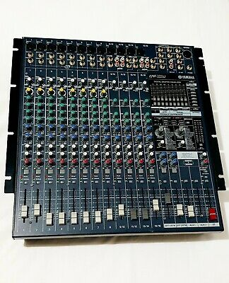 YAMAHA EMX5016CF 16 Channel 500W Powered Mixer - 3 Channels Faulty ( Negotiable)
