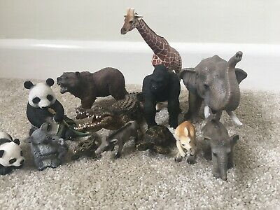 Schleich Jungle Animals Lot