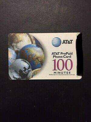 AT&T PRE-PAID PHONE CARD, 230 Minutes
