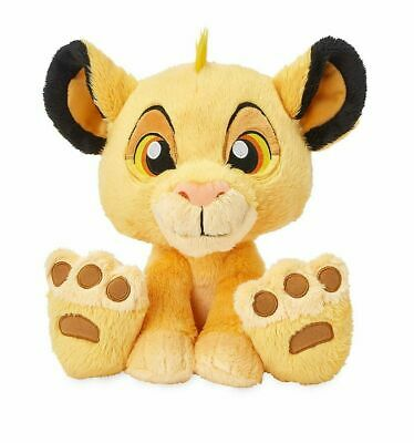 "Disney Parks The Lion King Simba Big Feet 10"" Plush Doll New with Tag"