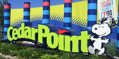 2 Cedar Point admission tickets and 2 FAST LANE PLUS Passes (includes weekends)