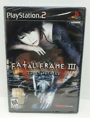 Fatal Frame III: The Tormented (Sony PlayStation 2, 2005) FACTORY SEALED *NTSC*