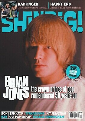 Shindig Magazine - Issue 93 - Brian Jones, Badfinger, Rory Erickson, Happy End