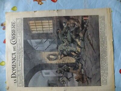journal italien original  la domenica del corriere du 5 mars 1944