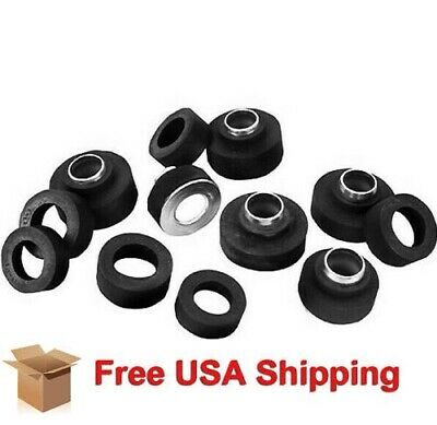 67 68 Firebird Camaro Body Plug Grommet Set 12pcs