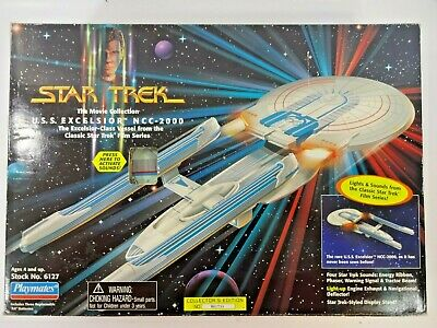 Playmates 1995 Classic Star Trek The Movie Collection U.S.S. Excelsior NCC-2000