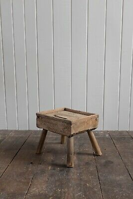 Diminutive Primitive 19Th Century Scottish Cobbler's Bench
