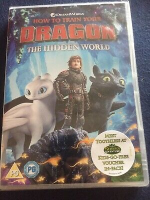 How To Train A Dragon The Hidden World Dvd