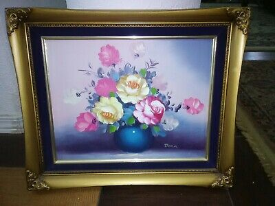 Beautiful profesional authentic hand made oil on canvas  paintings signed