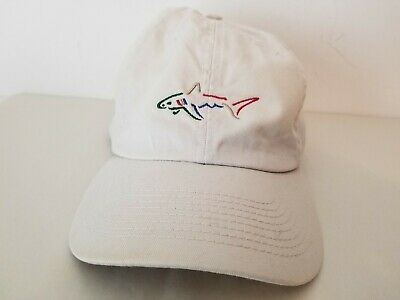 10c7f9acf BRAND NEW REEBOK Greg Norman Shark Golf Visor white summer special ...