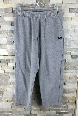 "Fila MB Boys 24-28"" 152cm Grey Tracksuit Bottoms Trousers Pants M"