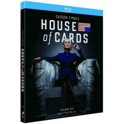 HOUSE OF CARDS - SAISON 6 ( saison finale) - COFFRET BLU-RAY NEUF SOUS BLISTER