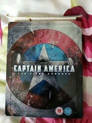 CAPTAIN AMERICA: THE FIRST AVENGER BLU RAY STEELBOOK hmv exclusive rare