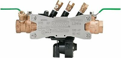 "NEW Zurn Wilkins 1-375XL 1"" Lead Free Reduced Pressure Backflow Preventer 375xl"
