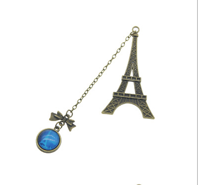 New Arrival Vintage Eiffel Tower Metal Bookmarks For Book