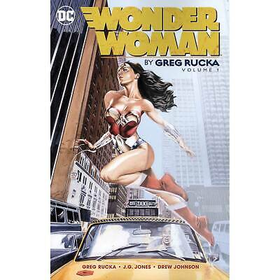 Wonder Woman By Greg Rucka Vol. 1 DC Comics Graphic Novel Softcover NEW
