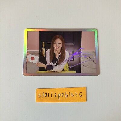 Twice TZUYU Official Photocard SIGNAL 4th Mini Album Special Ver. 쯔위 K-pop Korea