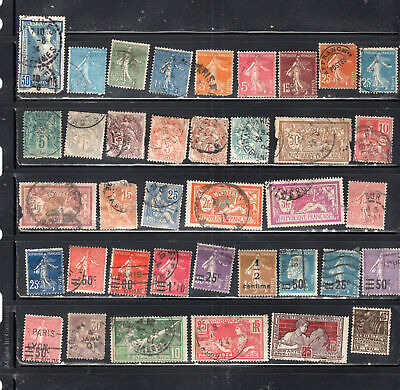 France Europe  Stamps Canceled Used  Lot  51453