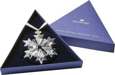 Swarovski Crystal Snowflake ANNUAL EDITION LARGE CHRISTMAS ORNAMENT