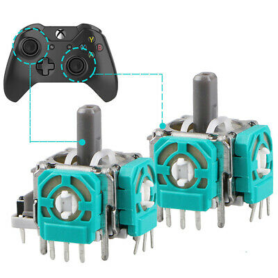 2PCS Joystick Axis Analog Sensor Module 3D New For Xbox One Replacement Q1M9T